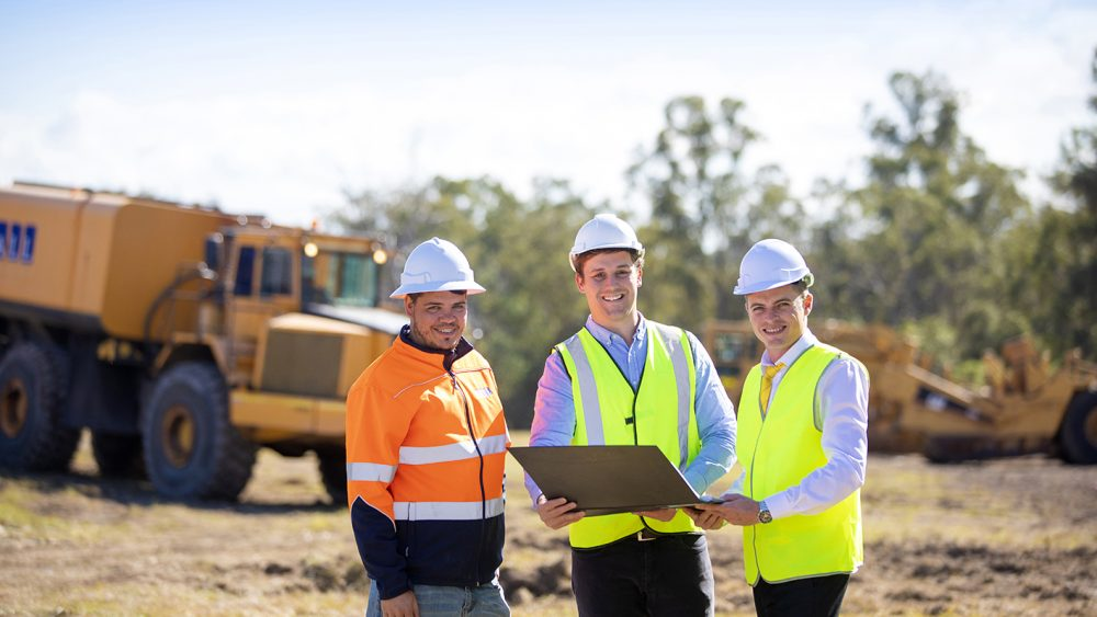 Construction starts at Aspect